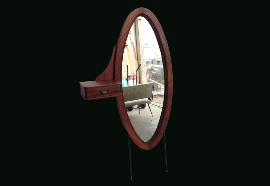 mirror  mogany